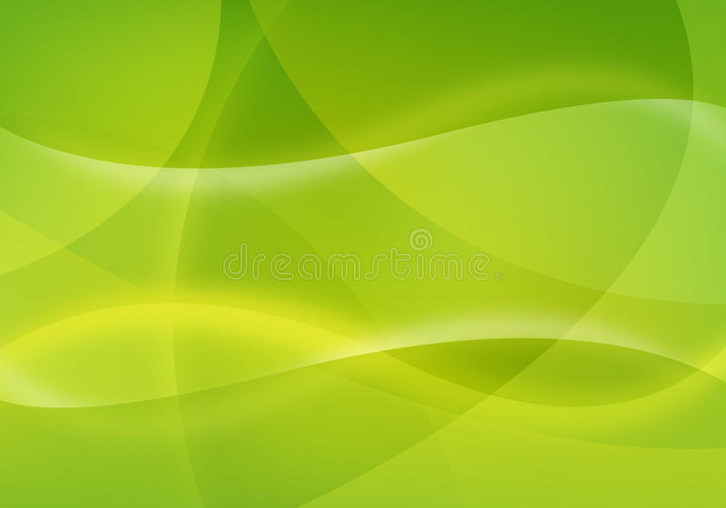 Fondo verde abstracto libre illustration