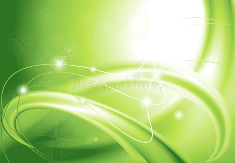 Fondo verde abstracto libre illustration