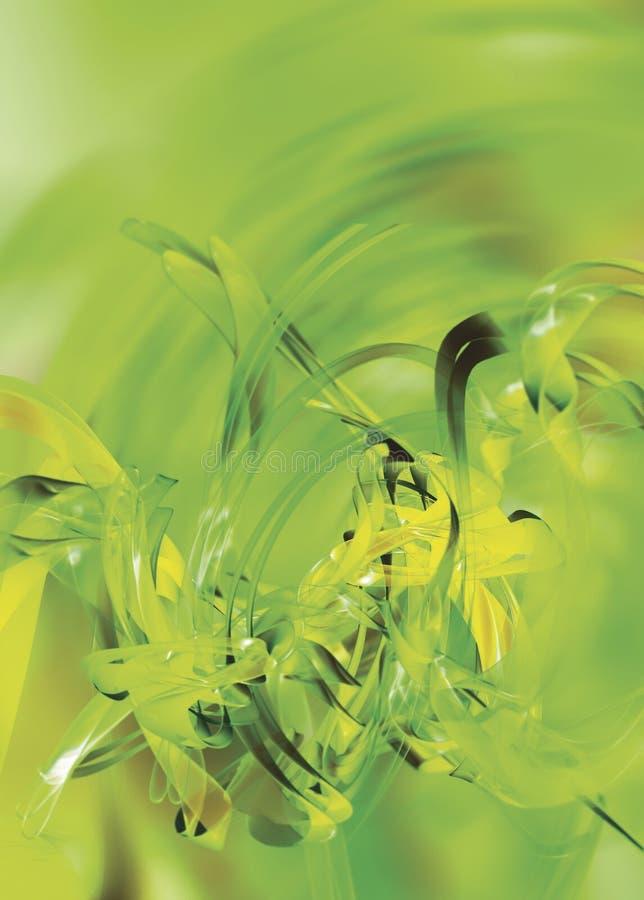 Fondo verde astratto fotografie stock