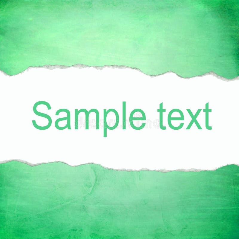 Fondo verde astratto con spazio per testo fotografia stock
