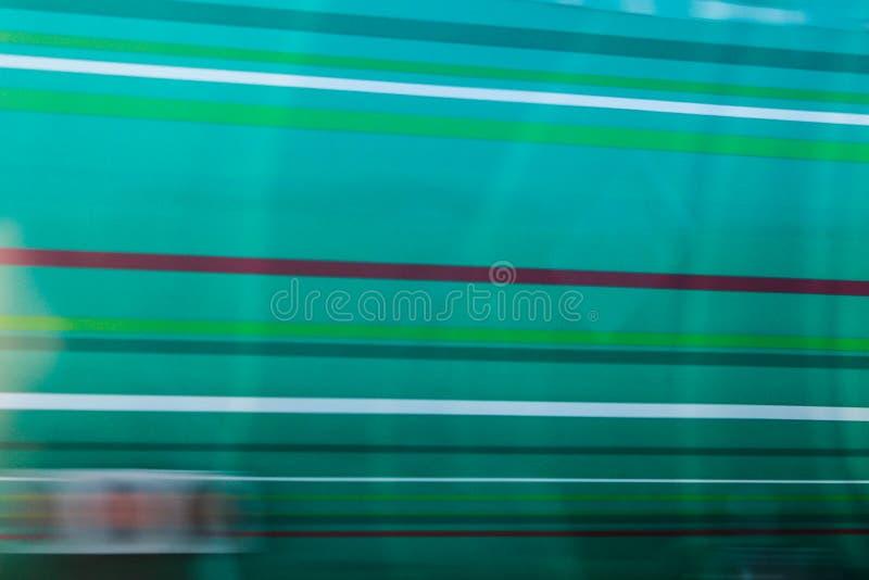 Fondo verde astratto a strisce fotografie stock libere da diritti