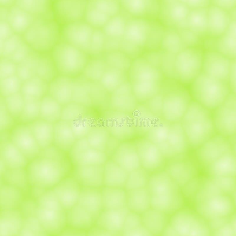 Fondo verde claro del bokeh stock de ilustración