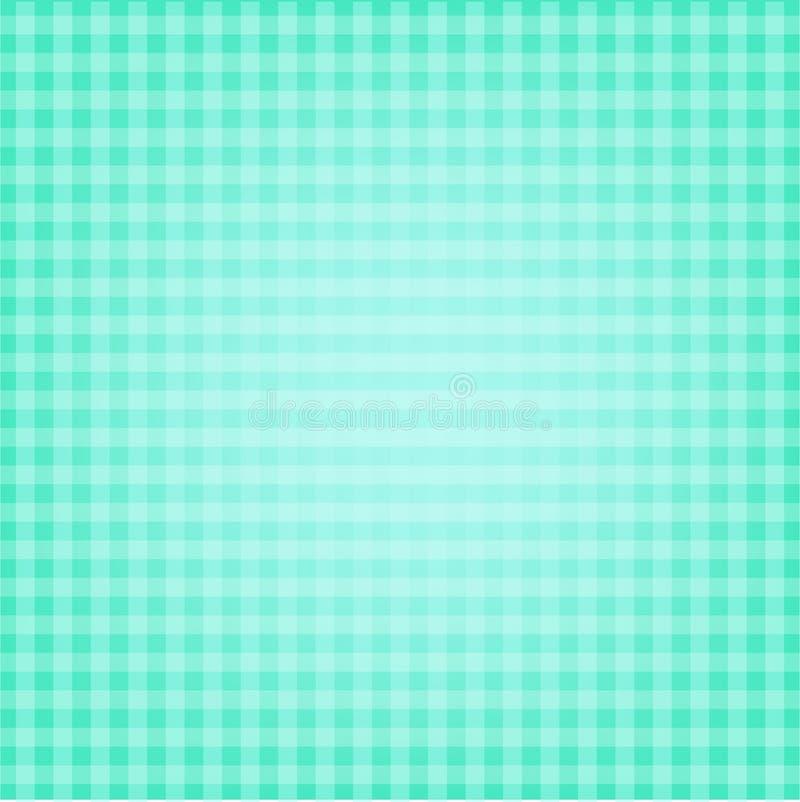 Fondo verde con la línea blanca vector imagenes de archivo