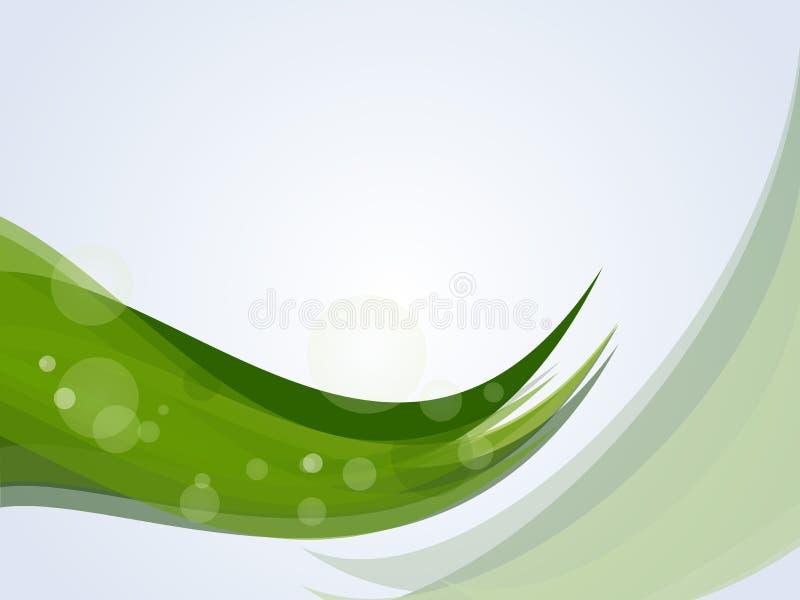 Fondo verde de la naturaleza. stock de ilustración