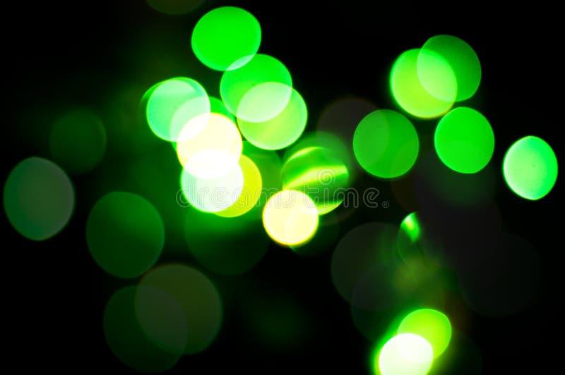 Fondo verde de la Navidad. fotografía de archivo