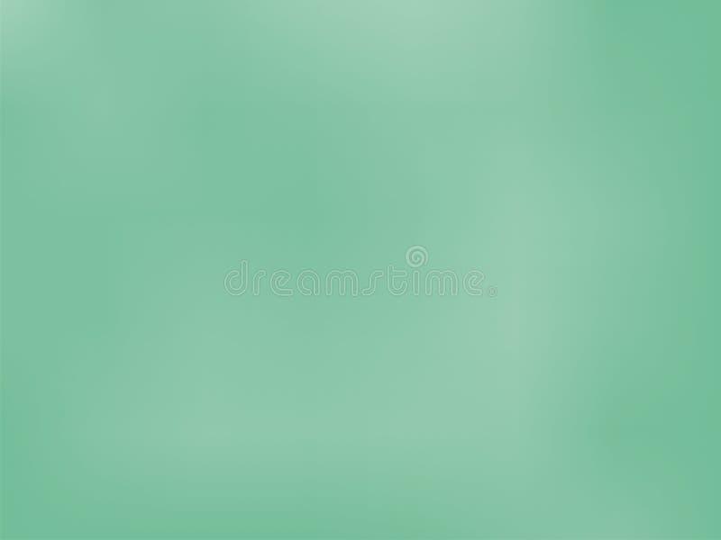 Fondo verde de la pendiente Color borroso liso de la textura Ilustración stock de ilustración