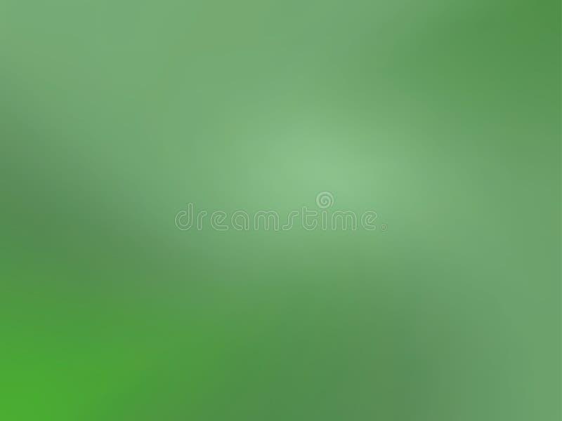 Fondo verde de la pendiente Ilustración del vector Modelo brillante con un flujo liso de sombras del color verde ilustración del vector