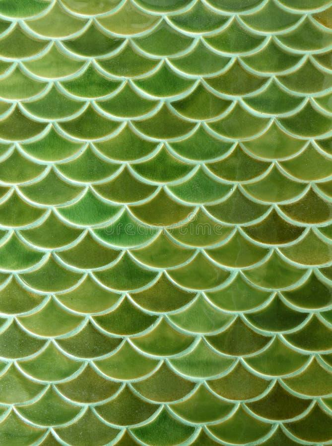 Fondo verde de la textura de las baldosas cerámicas fotos de archivo