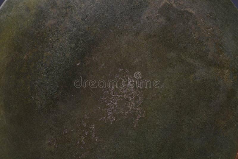 Fondo verde de la textura del metal de la pátina imagen de archivo