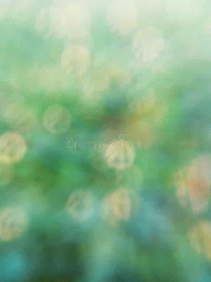 Fondo verde del bokeh di primavera immagine stock libera da diritti