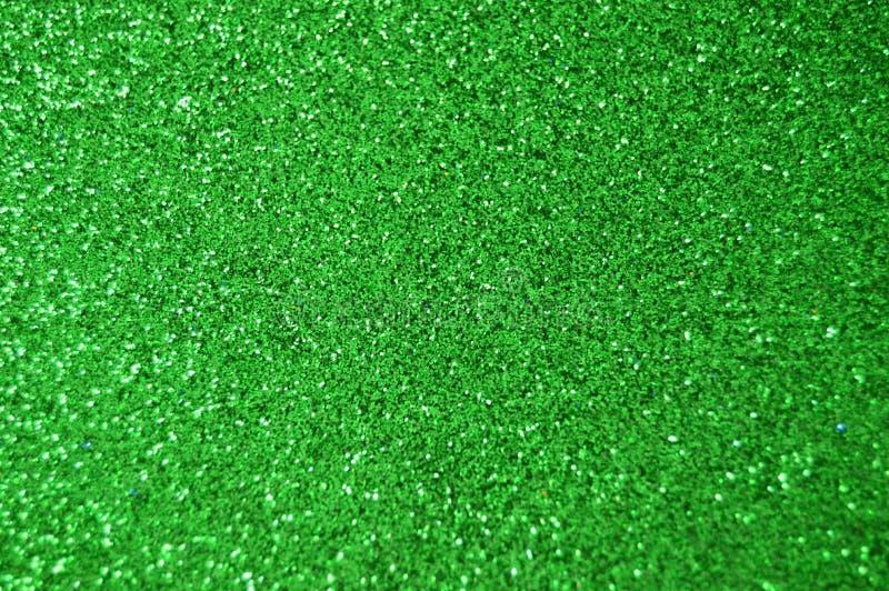Fondo verde del brillo de la chispa Textura del extracto del día de fiesta, de la Navidad, de las tarjetas del día de San Valentí imagenes de archivo