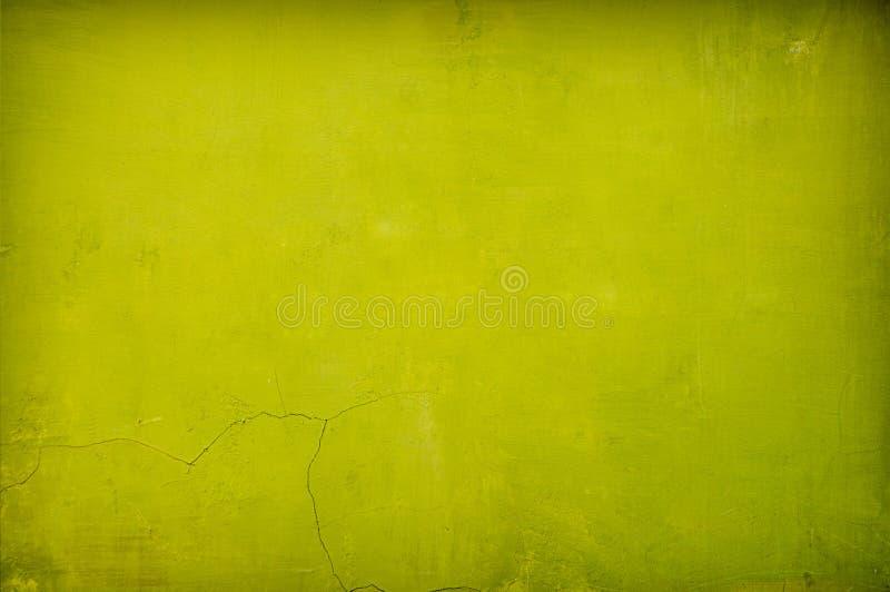 Fondo verde del concreto de la vendimia fotografía de archivo