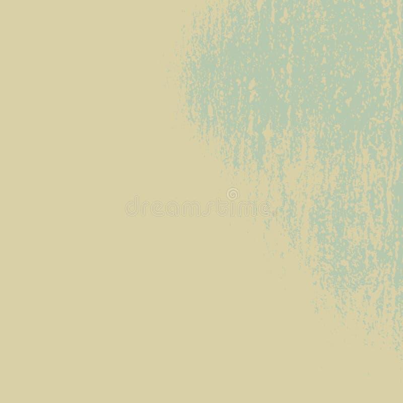 Fondo verde del grunge ilustración del vector