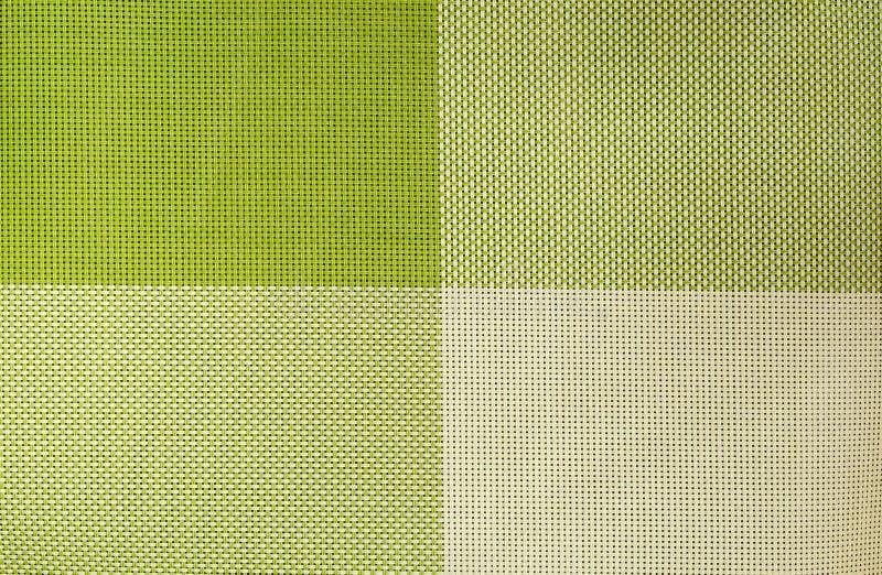 Fondo verde del tessuto fotografia stock