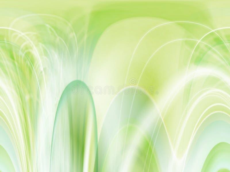Fondo Verde En Colores Pastel Imagen de archivo