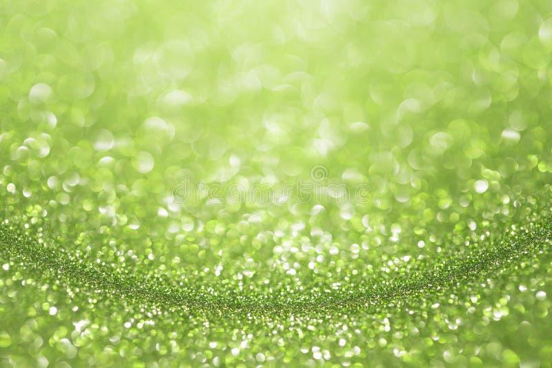 Fondo verde smeraldo verde di scintillio fotografie stock libere da diritti
