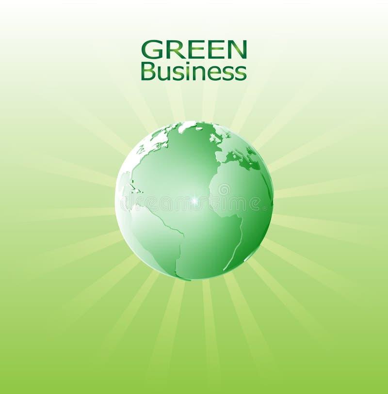 Fondo verde Vector_Green Radient del negocio foto de archivo