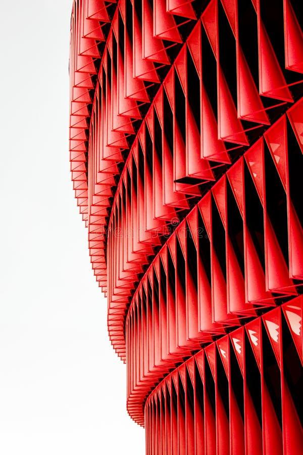 Fondo verticale nero, rosso e bianco di struttura immagini stock libere da diritti