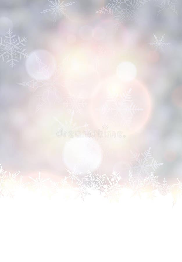 Fondo vibrante de la Navidad. stock de ilustración