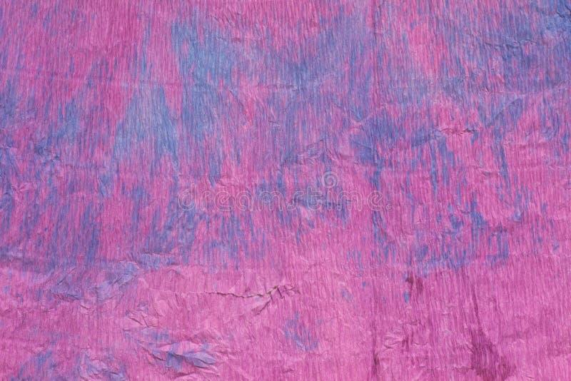 Fondo violeta del papel de crespón imagen de archivo libre de regalías
