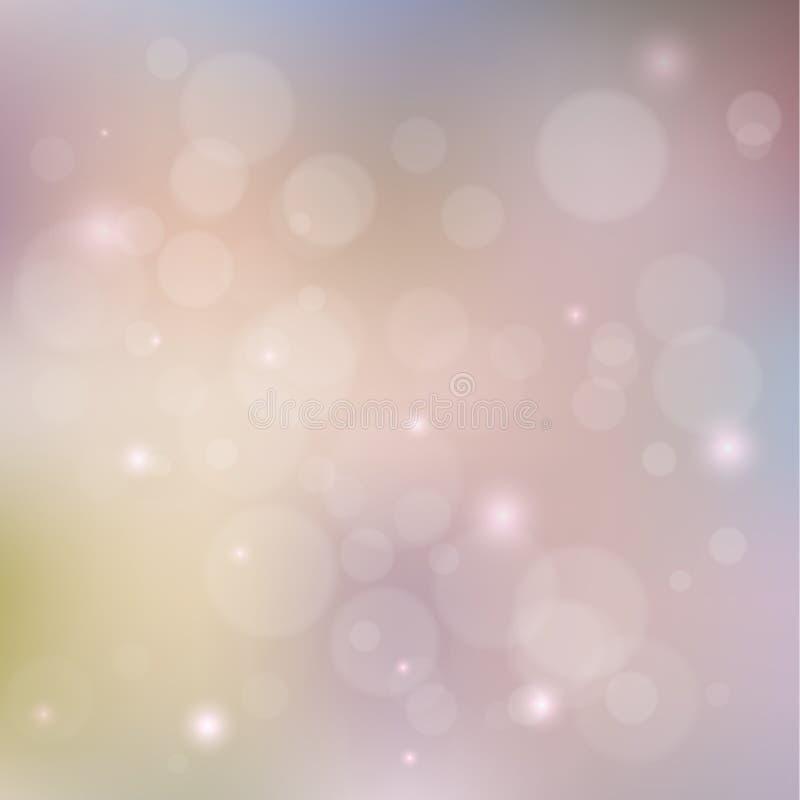 Fondo violeta del tono de Bokeh libre illustration