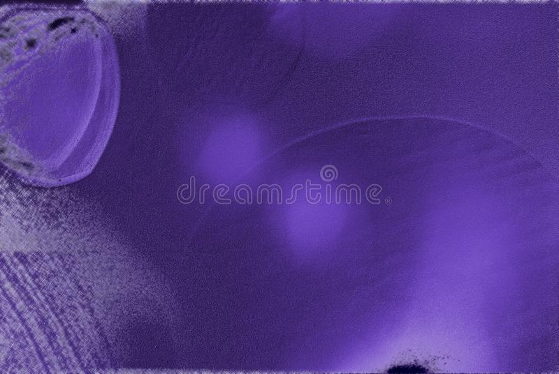 Fondo violeta moderno con efecto luminoso, brillo del filtro y formas geométricas foto de archivo libre de regalías
