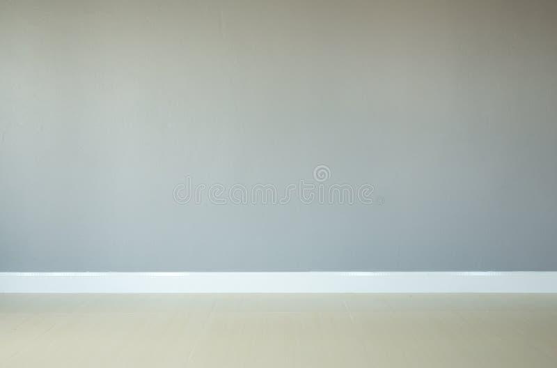 Fondo vuoto del pavimento e del muro di cemento fotografie stock libere da diritti