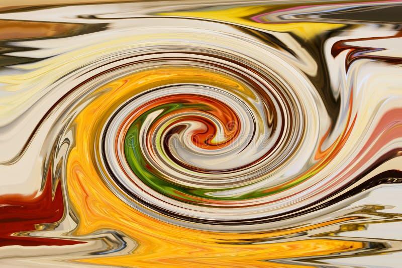 Fondo y diseño coloridos abstractos del modelo libre illustration