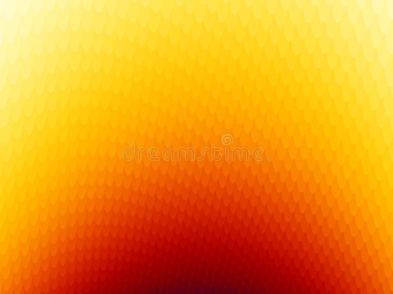 Fondos 10 del fractal stock de ilustración