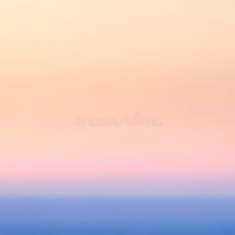 Fondos abstractos borrosos de la pendiente Extracto en colores pastel liso GR foto de archivo libre de regalías