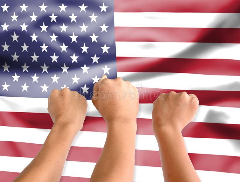Fondos abstractos de la falta de definición, bandera nacional, cooperación internacional, la relación de la nación, acuerdo de co foto de archivo