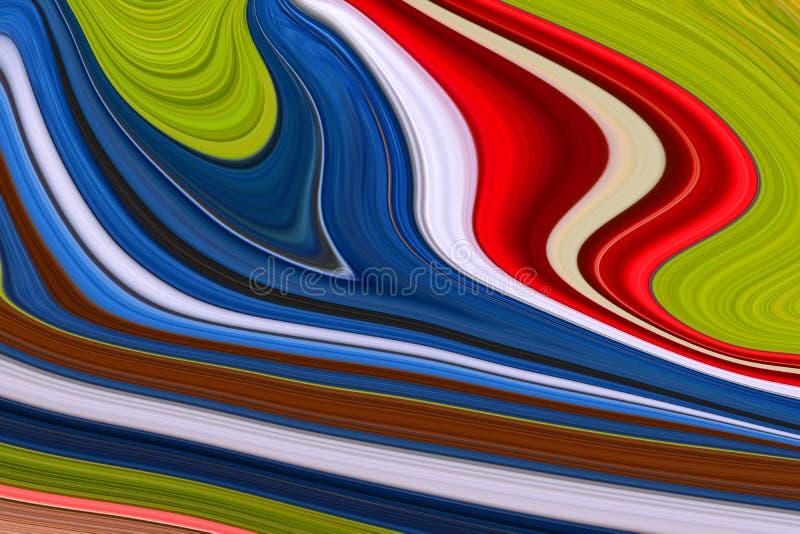 Fondos abstractos de muchos colores y curvas fotografía de archivo libre de regalías