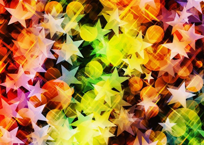 Fondos abstractos del día de fiesta ilustración del vector