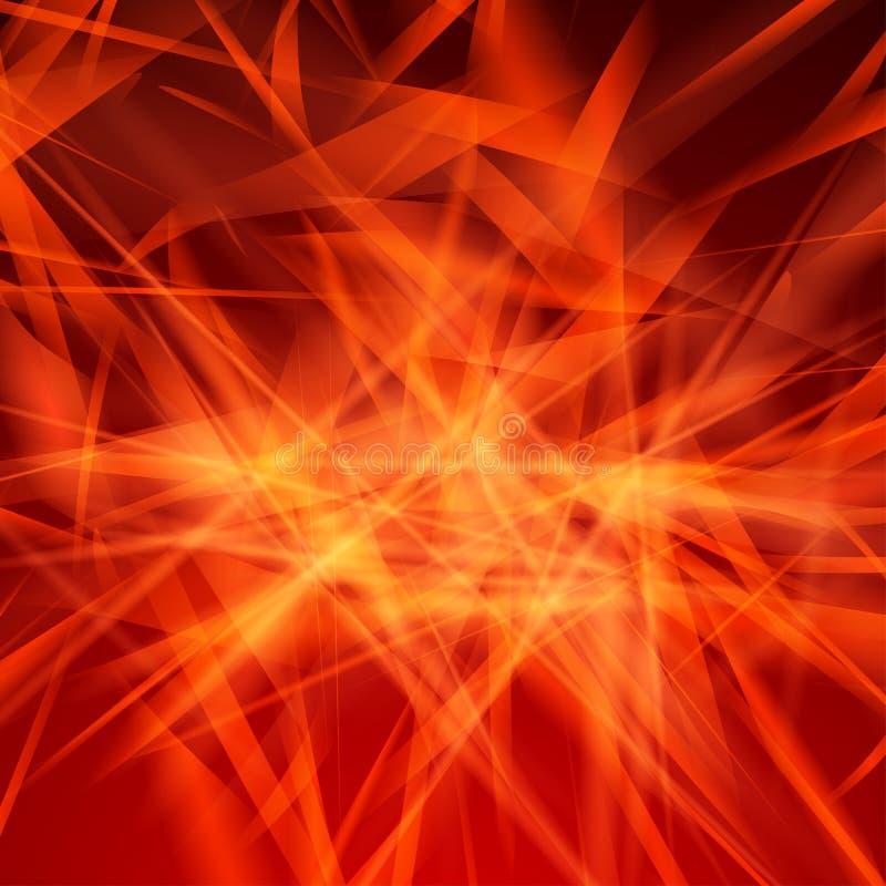 Fondos abstractos del vector. Rojo libre illustration