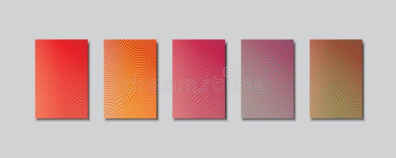 Fondos abstractos multicolores del vector EPS 10 stock de ilustración