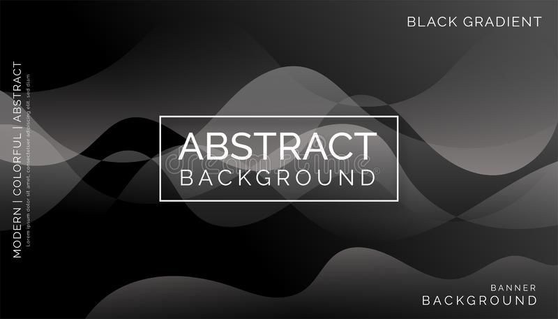 Fondos abstractos negros, fondos coloridos modernos, fondos abstractos dinámicos imagen de archivo libre de regalías