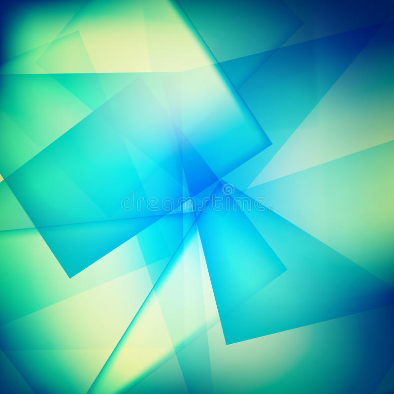 Fondos azules de la onda stock de ilustración