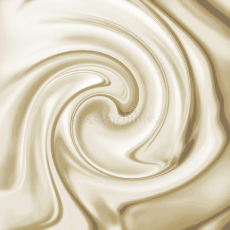 Fondos chocolate o vainilla blanco fotos de archivo libres de regalías