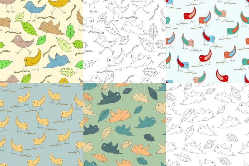 Fondos con los pájaros libre illustration