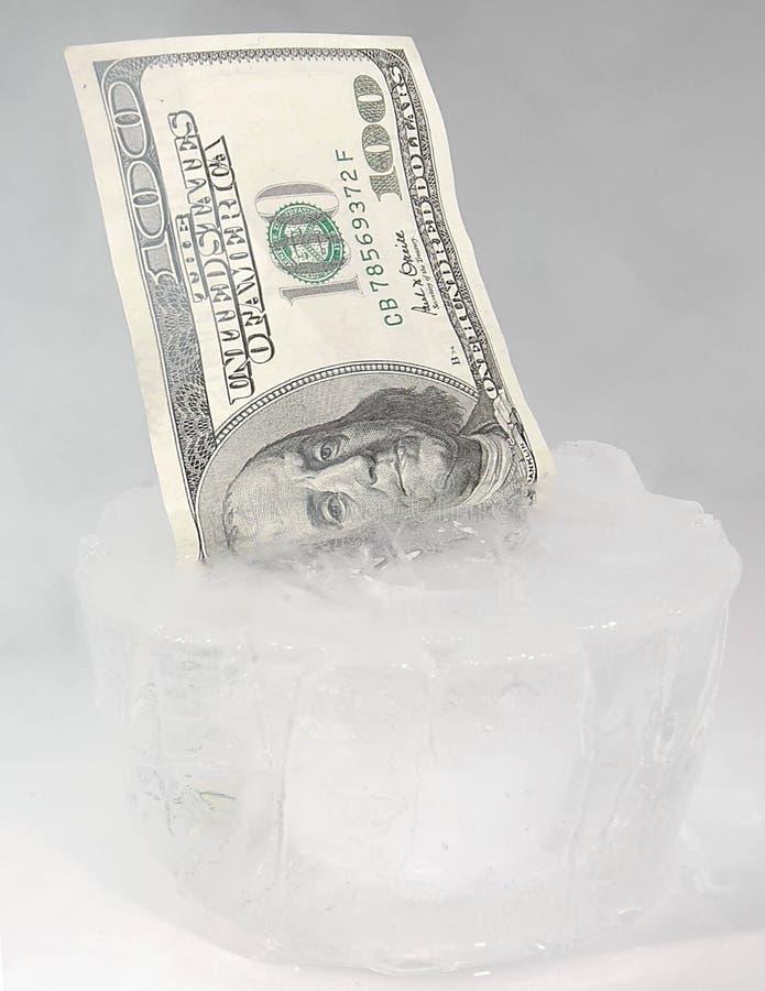 Fondos congelados foto de archivo libre de regalías