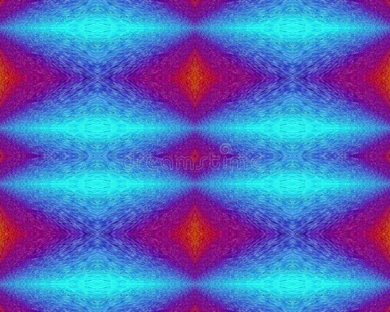 Fondos cuadrados del arte abstracto de los colores ilustración del vector