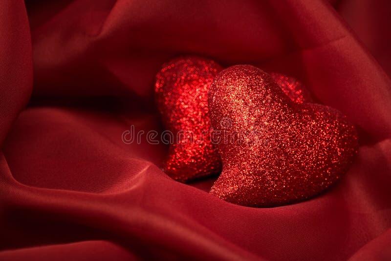 Fondos de la tarjeta del día de San Valentín abstracta imagenes de archivo
