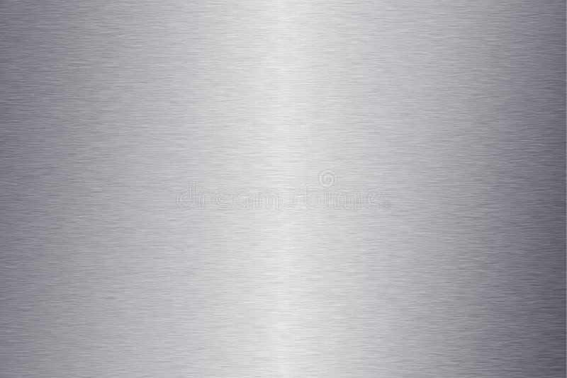 Fondos de la textura del metal de la placa, textura 2 ilustración del vector