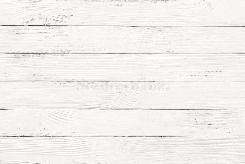 Fondos de madera blancos de la textura foto de archivo libre de regalías