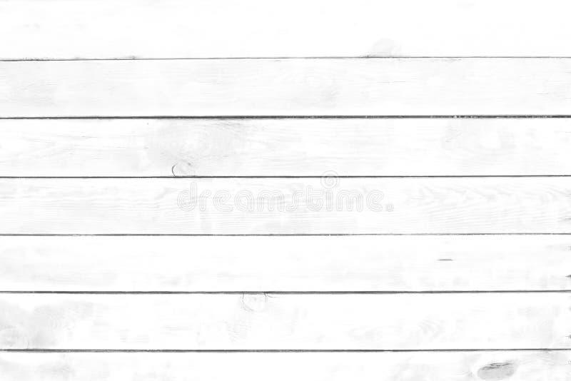 Fondos de madera blancos de la textura fotografía de archivo libre de regalías