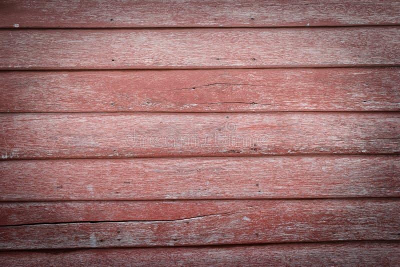Fondos de madera rojos fotografía de archivo