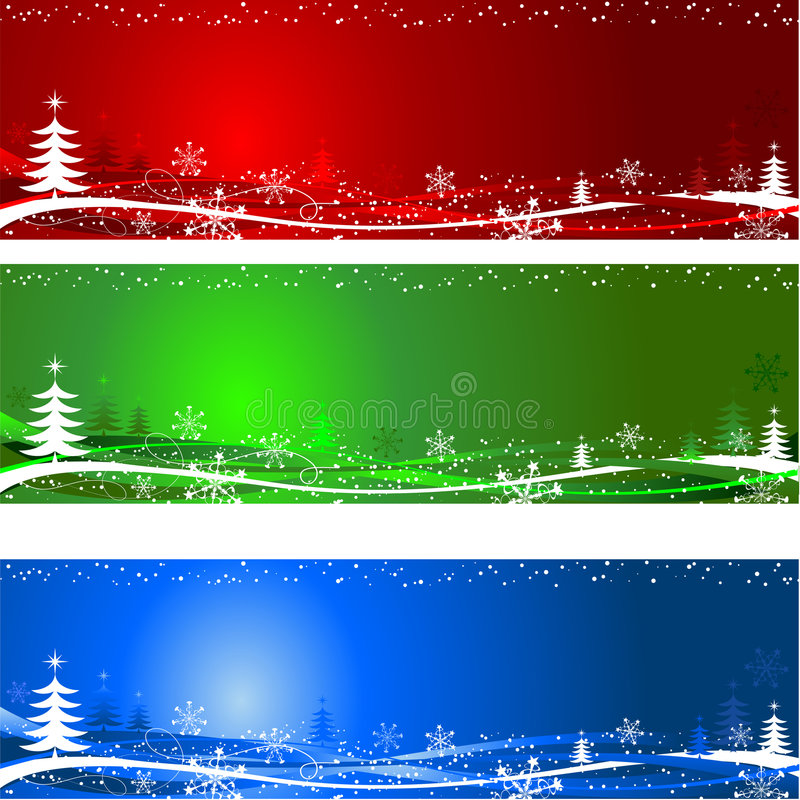 Fondos del árbol de navidad ilustración del vector