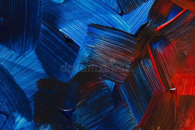 Fondos del arte abstracto Fondo pintado a mano UNO MISMO HECHO stock de ilustración