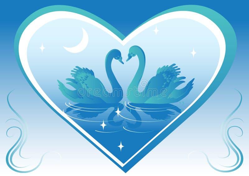 Fondos del cisne libre illustration