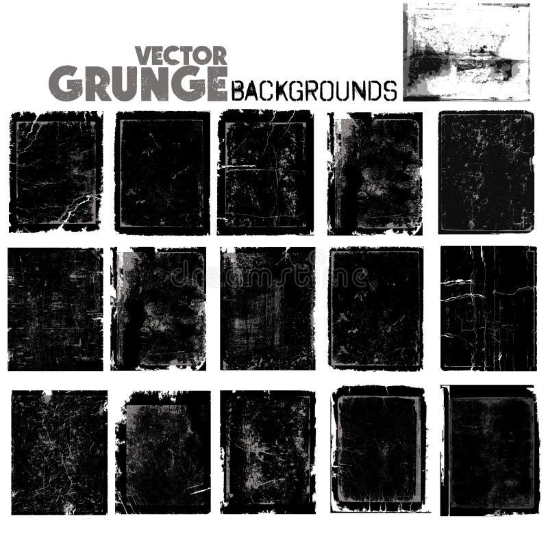 Fondos del Grunge ilustración del vector